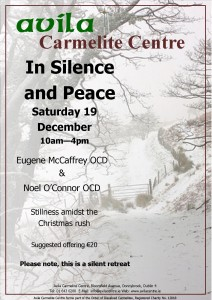 Advent reflection - In Silence and Peace - Avila Carmelite Centre @ Avila Carmelite Centre | Dublin | Dublin | Ireland