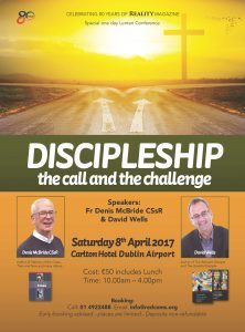 Discipleship the Call an the Challenge @ Carlton Hotel Dublin Airport | Dublin | County Dublin | Ireland