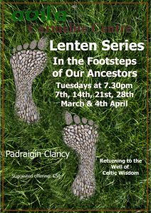 Lenten Evening Talks: In the Footsteps of our Ancestors @ Avila Carmelite Centre | County Dublin | Ireland