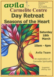 Seasons of the Heart @ Avila Carmelite Centre | County Dublin | Ireland