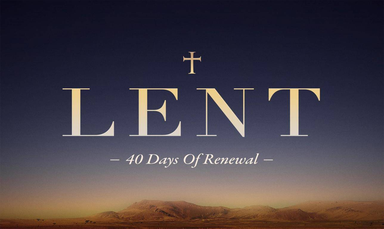 Lent Thoughts