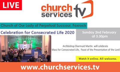 Celebration for Consecrated Life 2020 @ Church of Our Lady of Perpetual Succour